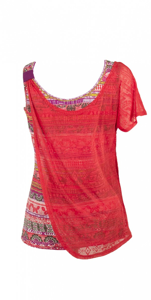 14581 Tee shirt femme imprime 7 1 -