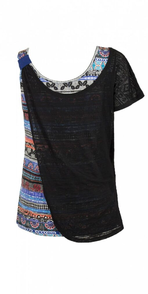14581 Tee shirt femme imprime 7 3 -