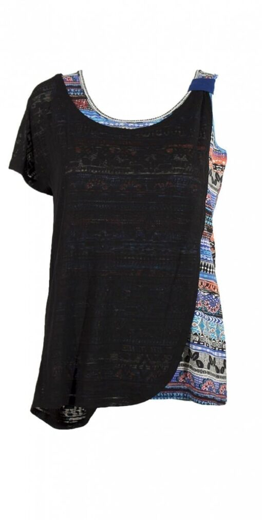 14581 Tee shirt femme imprime 7 4 -