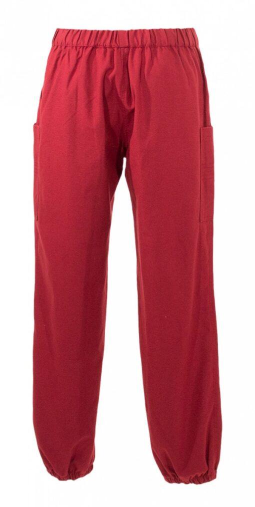 33207 Pantalon femme en toile brode 1 -
