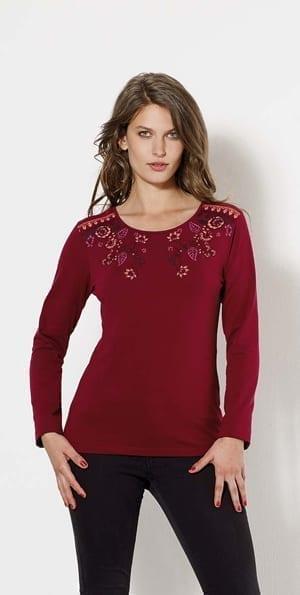33571 T shirt chic et feminin -