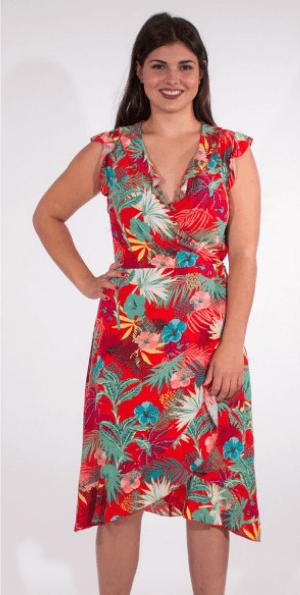 Poletna obleka RO16551 2 -
