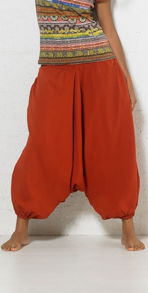 Bombažne harem hlače PA14187 (1)