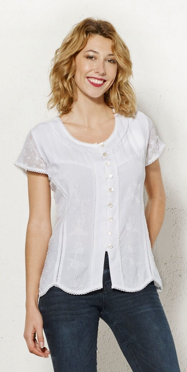 Bluza iz viskoze CH16308 (1)