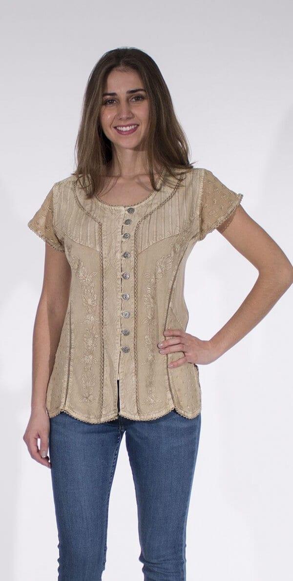 Bluza iz viskoze CH16308 (2)
