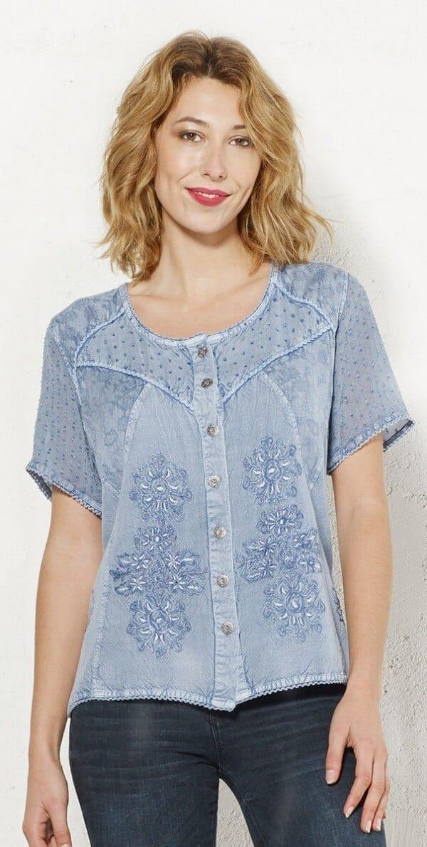 Bluza iz viskoze CH16311 1 -