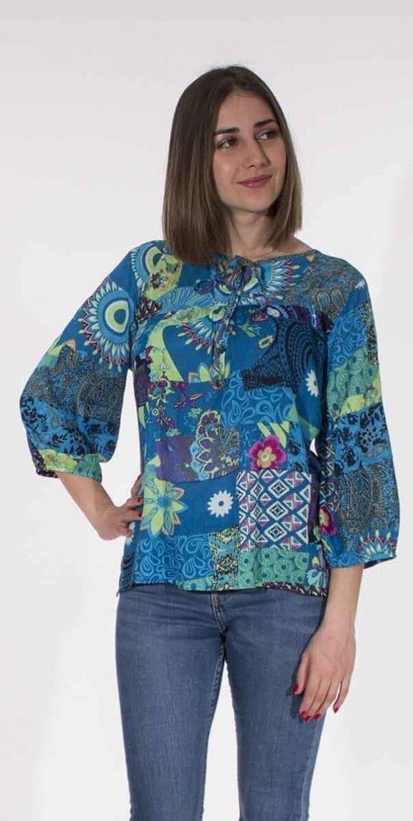 Bluza iz viskoze CH16574 (1)