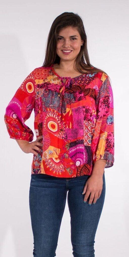 Bluza iz viskoze CH16574 2 1 -