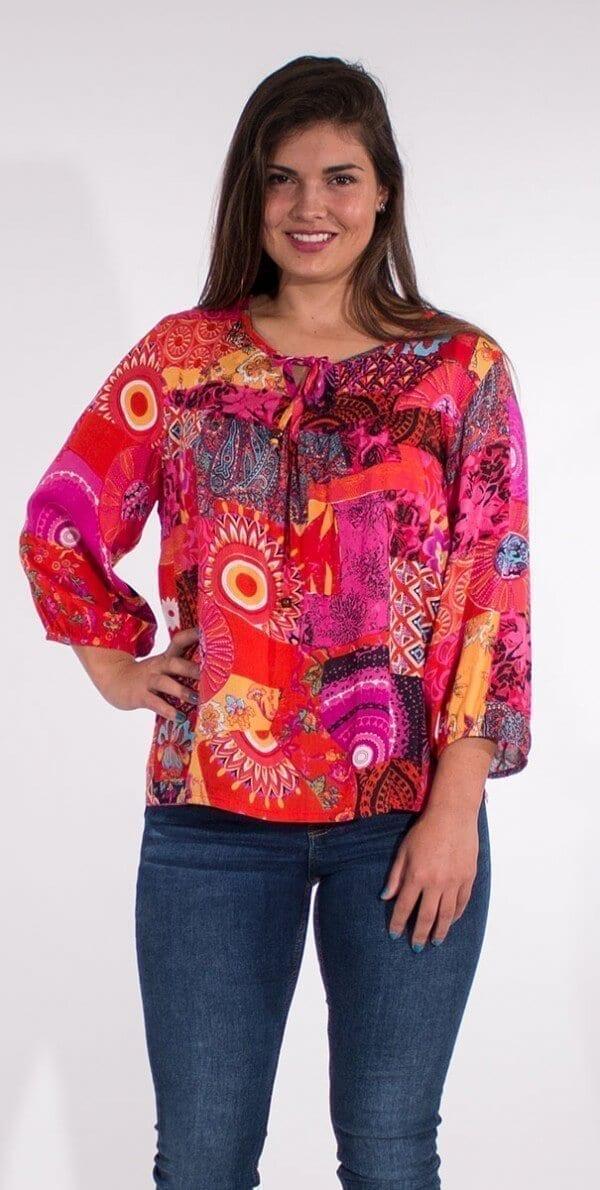 Bluza iz viskoze CH16574 (2)