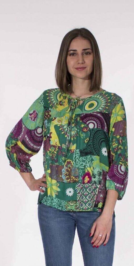 Bluza iz viskoze CH16574 3 -