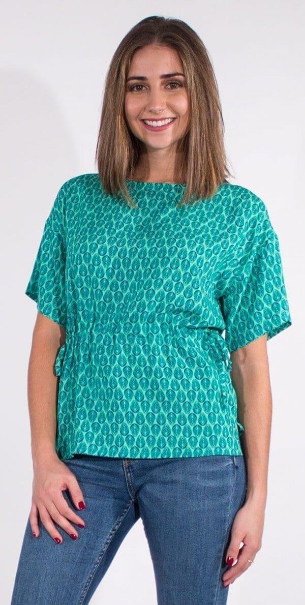 Bluza iz viskoze CH16589 (1)