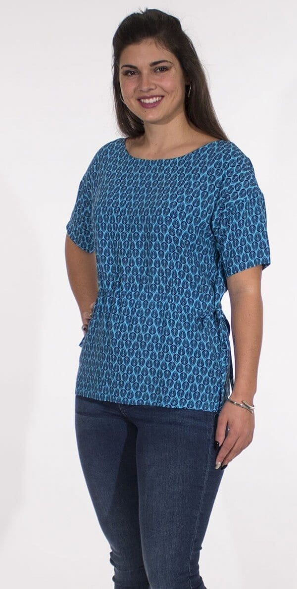 Bluza iz viskoze CH16589 (3)