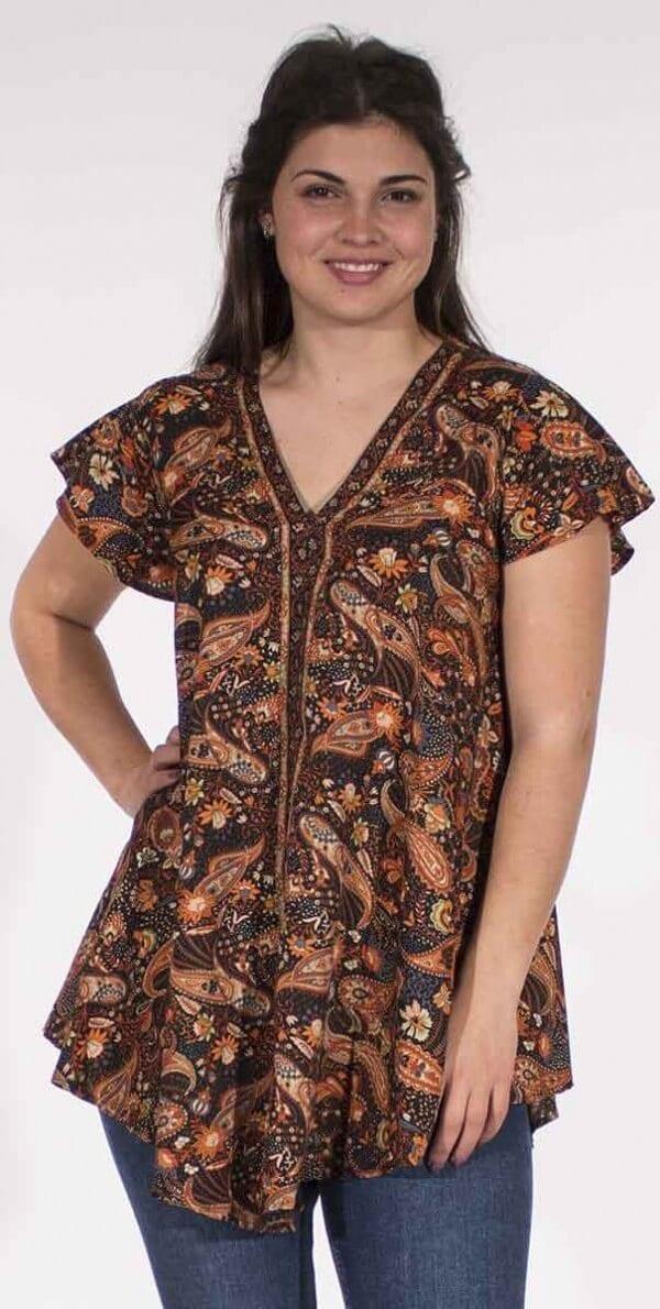 Bluza s kratkimi rokavi CH16510 (3)