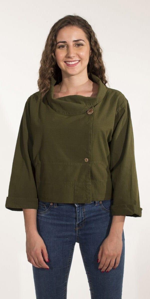 Bombažna jakna VE16338 (5)