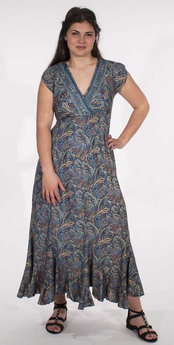 Dolga obleka RO16493 (2)