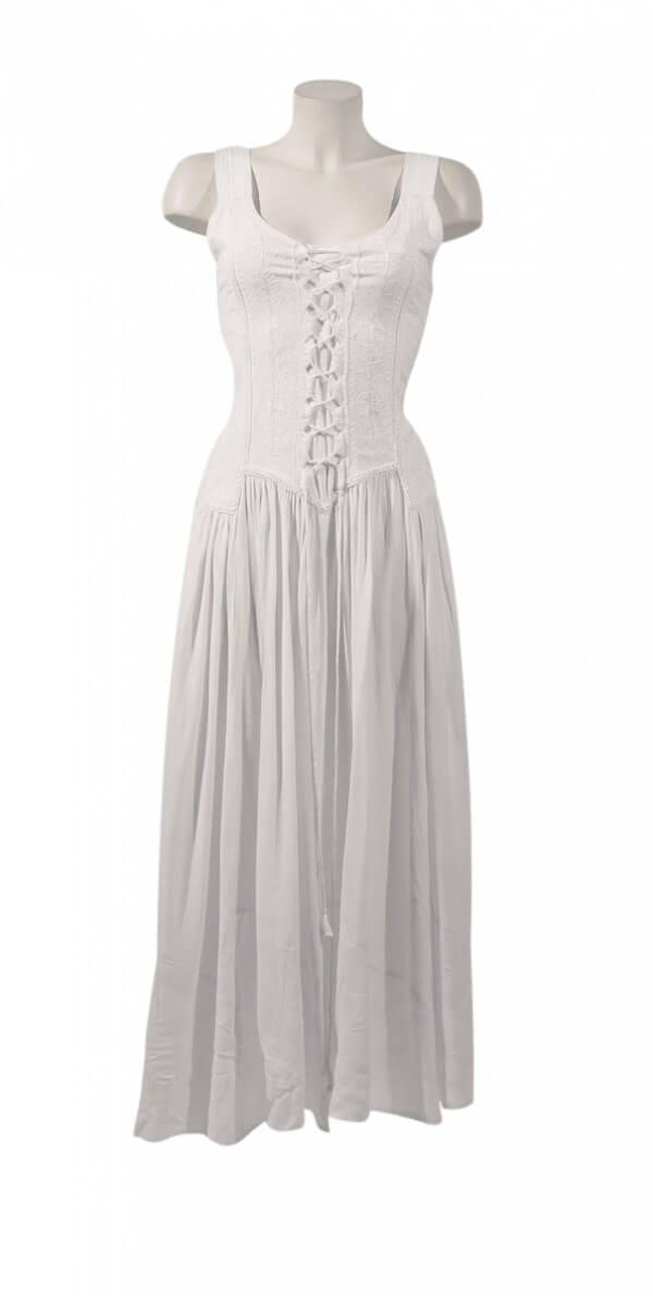 Dolga obleka iz viskoze RO10149 (8)