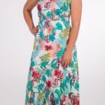 Dolga obleka iz viskoze RO16552 (3)