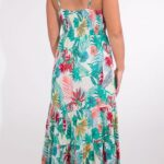 Dolga obleka iz viskoze RO16552 (4)