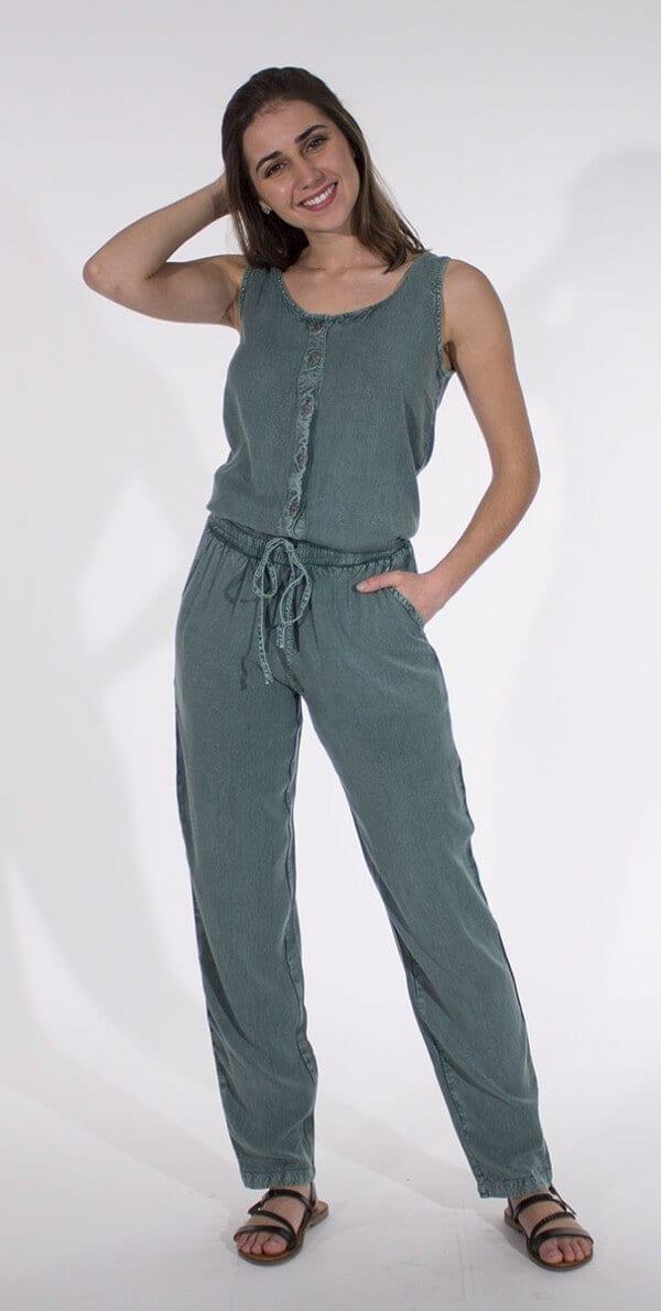Kombinirane hlače iz viskoze CO15932 (3)