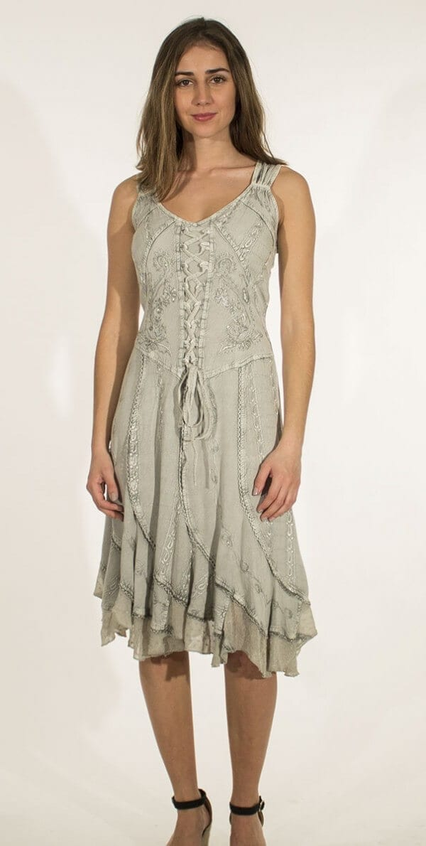 Obleka iz viskoze RO13336 1 -