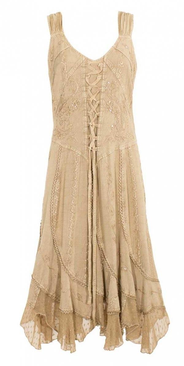 Obleka iz viskoze RO13336 (4)