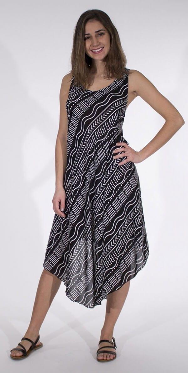 Obleka iz viskoze RO14576 (2)