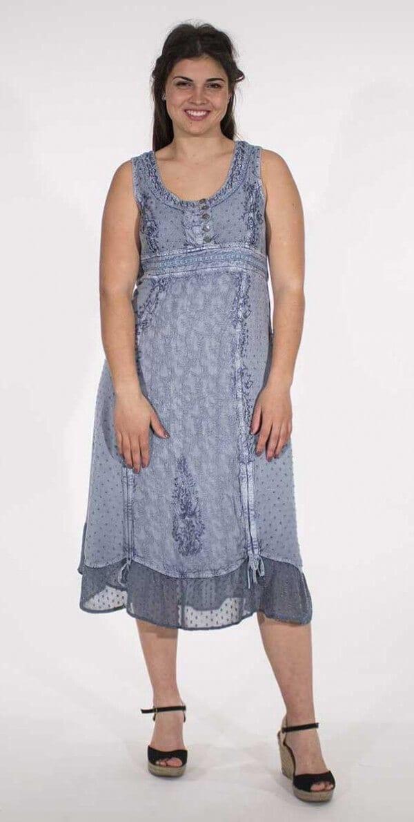 Obleka iz viskoze RO15080 (2)