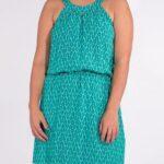 Obleka iz viskoze RO16590 (3)