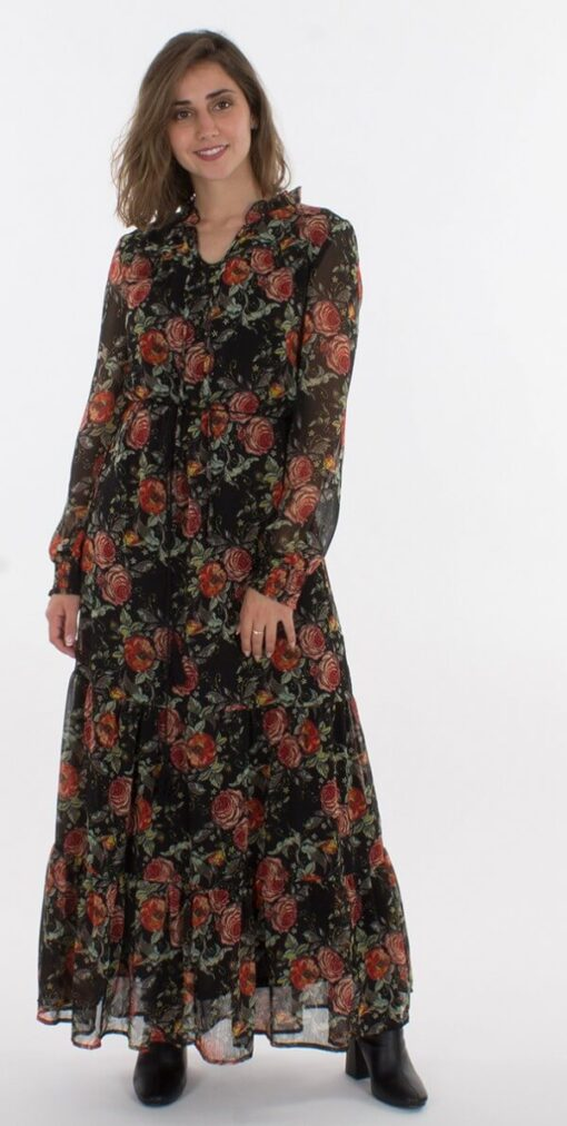 Dolga obleka RO16630 1 -