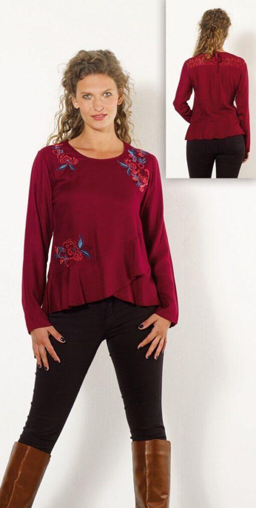 Bluza iz viskoze CH15705 2 -