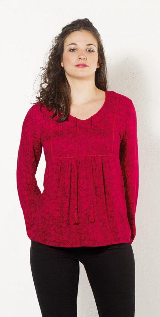 Bluza iz viskoze CH15762 2 -