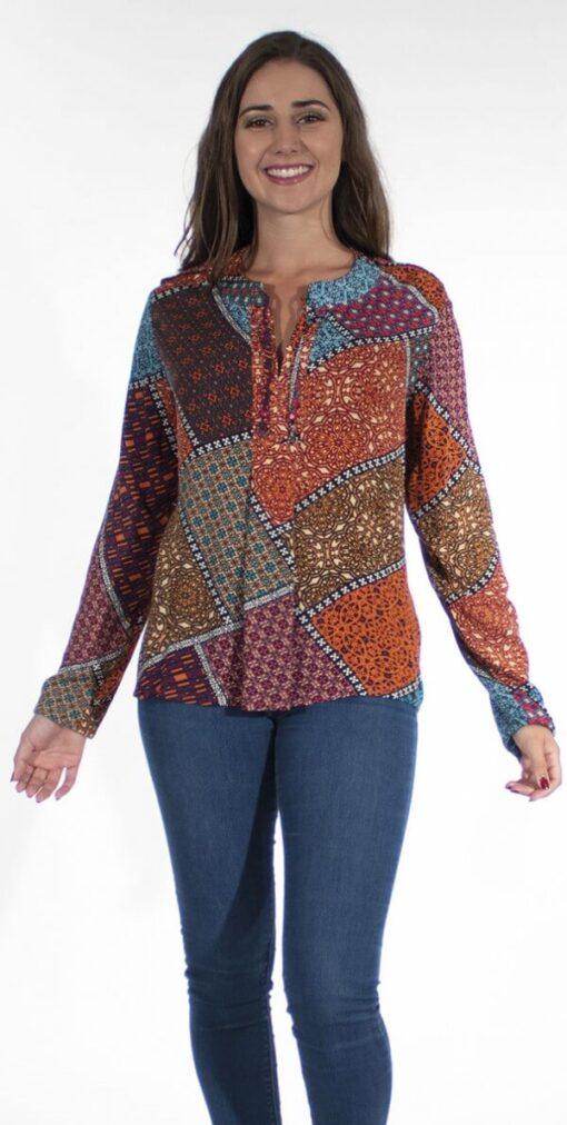 Bluza iz viskoze CH16472 2 -