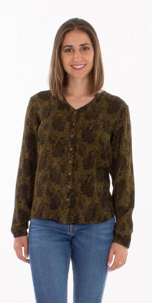 Bluza iz viskoze CH16666 2 -